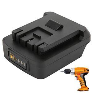 Adaptateur d'outil électrique, adaptateur de batterie ABS + PC, convertisseur de batterie pour batterie Li-Ion Makita 18V convertir en pour Bosch avec charge