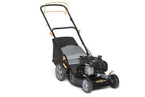 Alpina 295492024/A15 Tondeuse thermique BL 460 SB, 125 cc, Largeur de coupe 46 cm, Bac de ramassage 55 L