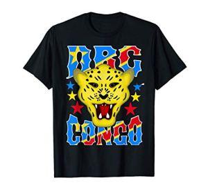 Amour République Démocratique Congo Drapeau RDC Armoiries T-Shirt