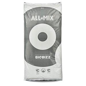 BioBizz All-Mix Sac Terreau Mélange d'Empotage Complet, Transparent, 20 L