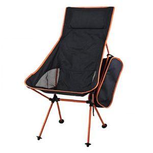Camping Tabouret Chaise pliante portable pour pêche Pliable en alliage d'aluminium extérieur Chaise de camping Gadgets maison