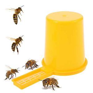 Delaman Lot de 2 mangeoires pour abeilles et miel, pour entrée d'apiculture.