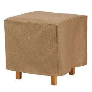 Duck Covers Essential 22″ Square Ottoman/Side Table Cover