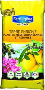 Fertiligene Terre Plantes Méditerranéennes et Agrumes, 40 L