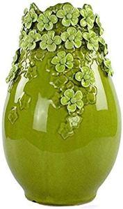 GAOYINMEI Table Basse Vase Vase Vases Creative Florale Décoration Simples Ornements en céramique Moderne Main Porcelaine Motivationcreative Simplicité Céramique Décorations (Color : C)