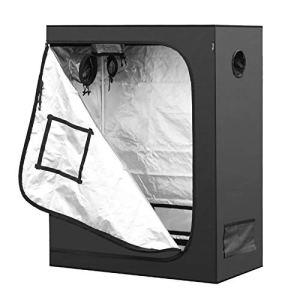 GJR-Zhiwushengzhang Nouveau Indoor hydroponique Grossir Tente 600D Mylar réfléchissant Grandir Chambre Box LED Grow Usine lumière Jardin Croissance,150x150x200cm