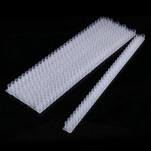 Gobelets Queen Cell, en plastique blanc, se fixe facilement à la bande de barre à double cellule, pour les apiculteurs