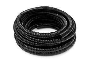 HeRo24 Tuyau spiralé en PVC – Diamètre : 19 mm – Longueur : 20 m – Pour étang et ruisseaux.