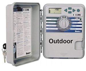 Hunter Ordinateur d'irrigation, XC-401-E 4stations, gris, 25x 17x 9cm, na375