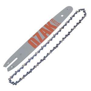 Jardiaffaires Guide Chaine Pro 35cm Pas 3/8LP, Jauge 1,1mm 50E = 144MLEA074 + 90-50E