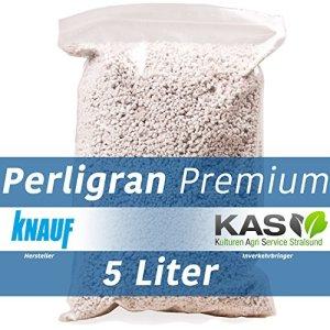 Knauf Perlite Perligran Activateur de substrat 5 l Premium