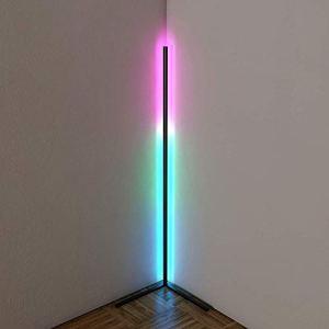 Lampe de Sol à Changement de Couleur RVB, Lampe Nordique à LED à la LED Debout Intelligent, pour Salon Chambre à Coucher avec télécommande