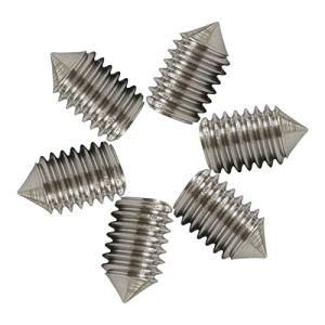 Meet's shop Vis de réglage de la Prise hexagonale M2 m2.5 m3 m4 m5 m6 m8 m10 m12 m12 Plastique de cône en Acier Inoxydable Canton de Jeu de greffe12.9 pour la clé à Douille hexagonale
