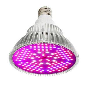 Mobestech E27 150 LED pour Plantes hydroponiques et végétales Rouge/Bleu