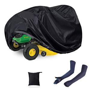 N/C ZAMDOE tondeuses à Gazon équitation imperméables Couverture Couverture de Tracteur Ajustement Universel Anti-poussière 210D Polyester Oxford Protection UV