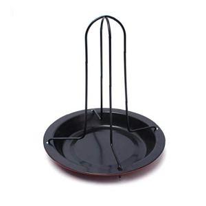 Poulet Roaster Poulet rôti Porte-Rack, support de cuisson Pan vertical non-bâton Outils grillade Accessoires BBQ