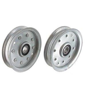 Poulie à gorge plate adaptable MTD pour modèles 38″, 42″, 46″, 52″. Remplace origine 753-08171, 756-04129, 756-04129B, 956-04129, 956-04129B, 956-04129C
