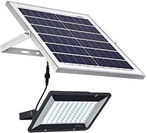 Projecteur d'extérieur à énergie solaire à LED – Éclairage de sécurité – Étanche IP66 – 60 W