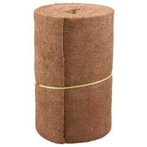 Qianele Rouleau de paillis en forme de coco 61 cm de large et 83,8 cm de longueur pour paniers suspendus