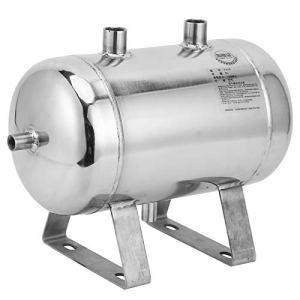 Réservoir de gaz Horizontal de 1.25MPa 5L 4 Ports, réservoir de Stockage d'air d'acier Inoxydable de Haute précision 304, approprié à la Puissance de Voiture de Production Industrielle