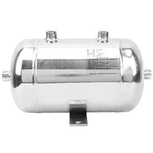 Réservoir horizontal de réservoir de gaz de 3L 4 ports, réservoir d'acier inoxydable de haute précision 304 pour le stockage d'air, approprié à la puissance de voiture de production industrielle