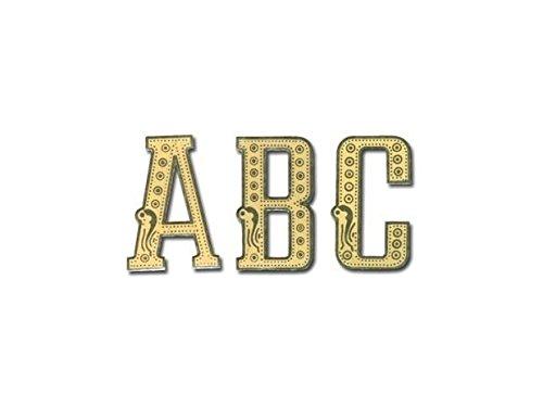 Rospil Lettres de Couronnes Bobine cellophane avec Dessins Transparent Or 13.00×9.00×1.00 cm
