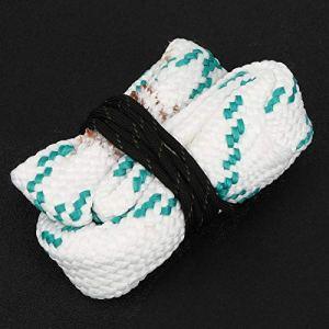 SALUTUYA Brosse de Corde de Brosse de Corde de Nylon de Haute qualité compacte, pour Le Tube de Pistolet de Chasse(G01:12 GA Gauge)