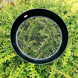 Tamis de jardin, aérateur de compost en pierre de sable 9 mm