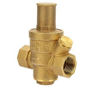 Vanne de régulation de pression résistante à l'usure, bouton de réglage de la vanne de régulation de pression en laiton Réponse rapide avec laiton