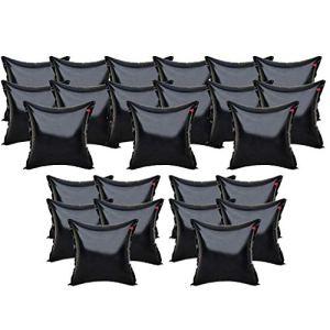 well2wellness 25x Coussin Gonflable d'hivernage Premium Black Edition pour couvertures de Piscine