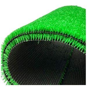 WJ Simulation de tapis de gazon Pelouse Pelouse artificielle artificielle Faux gazon en plastique Jardin d'enfants Balcon extérieur Tapis vert (monochrome) ( Color : T 0.8cm , Size : 2*8m )