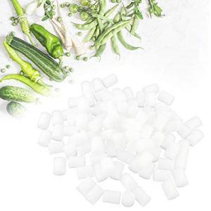 Yivibe Plantation de semis Cubes d'éponge hydroponique 19 * 25mm, Outil de Jardinage, pour la Plantation de Hangar Base de Plantation de légumes Agriculture Moderne élevage Artificiel