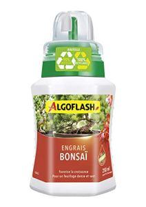 ALGOFLASH Engrais Bonsaï, Bouchon Doseur Inclus, 250 mL, ALIBONZ250