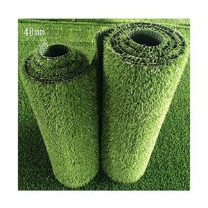 ALGWXQ Gazon Artificiel Protection Environnementale Réaliste Patio Toit Centre Commercial Fausse Herbe, 6 Sortes Vert, Taille Personnalisable (Color : F, Size : 2x50m)