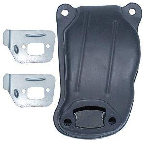 AUMEL 523052602 Kit Silencieux déflecteur Silencieux pour Husqvarna 550 XP 545 Échappement de tronçonneuse.