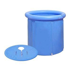 Baignoire pliante, facile à installer, baignoire portative imperméable à 3 couches, maille de salle de bain épaissie, baignoire japonaise, salle de douche avec isolation à épaississement de mousse à c