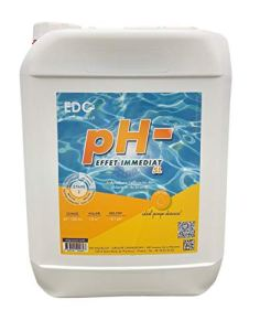 Baisse Le PH – Liquide EDG by AQUALUX, BIDON DE 5 litres