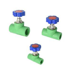 Boites d'irrigation avec couvercle – 1 robinet d'arrêt à chaud DN15 DN20 DN25 PPR – 1/2 3/4 2,5 cm