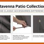 Classic Accessories Accessoires Classique 55–147–015101-EC Ravenna Housse pour Foyer Rond, Petit, Taupe