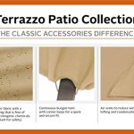 Classic Accessories Terrazzo Housse pour colonne de feu d'extérieur
