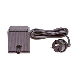 CLGarden Bloc d'alimentation transformateur pour LED cerisier LEDKB600 de rechange Prise d'alimentation IP64 intérieur et extérieur