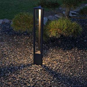 CLGarden Design Lampadaire extérieur LED ASL2 Lampe d'extérieur design Borne d'éclairage éclairage de jardin
