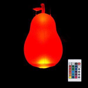CZSMART Lampes solaires LED gonflables, flottantes et étanches à changement de couleur – Boule à suspendre pour étang, piscine, plage, jardin, cour, patio, décoration de nuit pour événements, fêtes