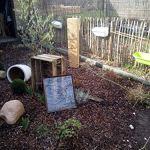 Die Gartenbeet-Kiste Hôtel à abeilles – Bois massif – Abeilles sauvages – Hôtel à insectes – Abeilles sauvages – Taille XL : 150 cm