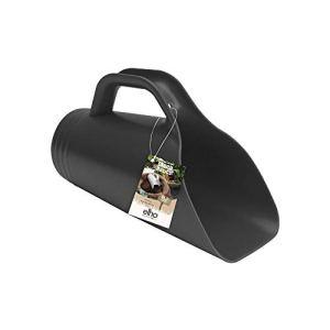 Elho Green Basics Pelle Xxl – Living Noir – Extérieur & Intérieur – L 10.5 x W 22.5 x H 14.6 cm