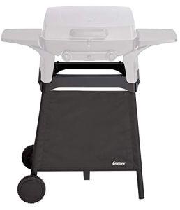 Enders® Trollley 2065 Urban Series sous-comptoir, Chariot à roulettes, Bouteille de gaz, Accessoires pour Barbecue, Noir
