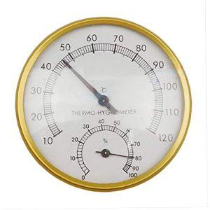 Extérieur Intérieur Sauna Fournitures multifonctions Sauna Thermomètre inductif Pointeur Accueil intérieur Cadran hygromètre hygromètre
