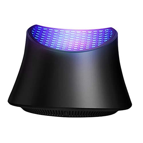 Fenteer Piège à moustiques USB Lampe Anti-moustiques de Moustique D'USB, Lampe électrique de Piège de Zapper – Noir