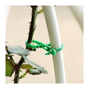 FIDALIKA 30/50 / 100 Pcs Plante De Cravate De Câble De Jardin Réutilisable, pour Supporter des Arbustes D'arborescence De Fermeture D'arborescence Nylon en Nylon Réglable Câble De Câble Ties Outils