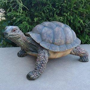 Figurine de jardin en forme de tortue, résistante aux intempéries